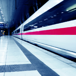 ebm-papst drive and climate control components in rail technology.